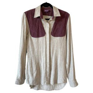 Apalain Shooting Shirt Hunting Long Sleeve Linen S